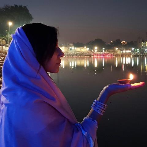 Viaje de yoga a la India. Organizado por Marieke Kisteman y Natalia Pallás